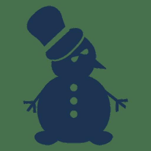 snowman silhouette icon 58 transparent png svg vector rh vexels com