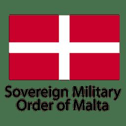Soberano orden militar de malta bandera nacional.