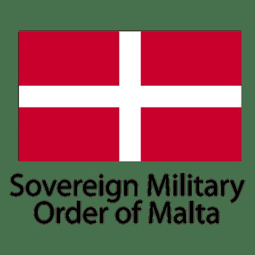 Orden militar soberana de la bandera nacional de malta Transparent PNG