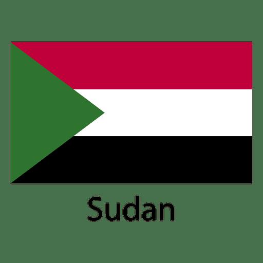 Bandera nacional de Sudán