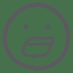 Surprised emoji emoticon