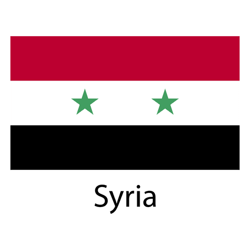 Syrien Nationalflagge