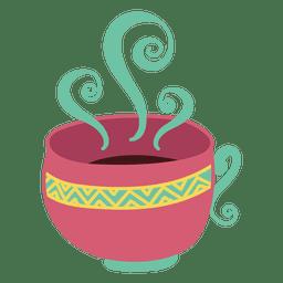 de café do copo de chá