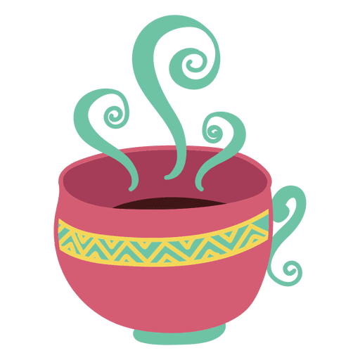 Taza de cafe Transparent PNG