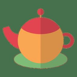 Bebida bule de chá