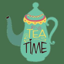 café té de la tetera