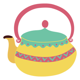 Teapot tea pot pastel tones