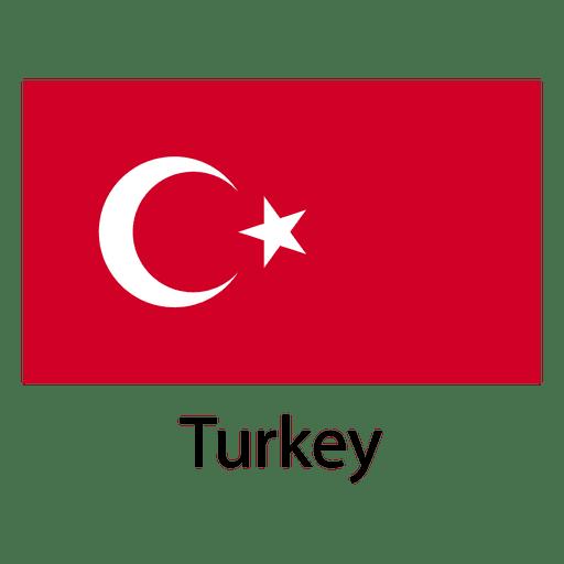 Bandera nacional de turqu?a