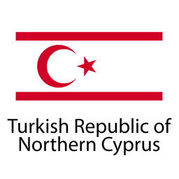 Turkish republic of northern cyprus national flag
