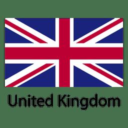 bandera nacional Reino Unido