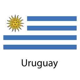 Bandeira nacional do Uruguai