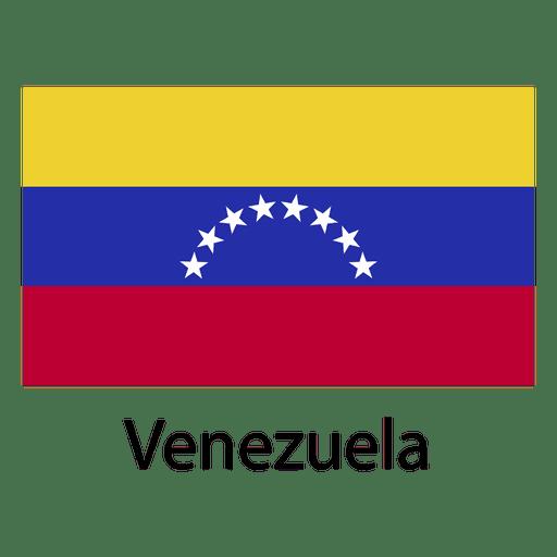 Bandera nacional de venezuela
