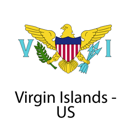 Ilhas Virgens Americanas a bandeira nacional