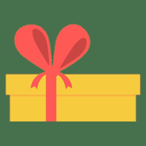 Caixa de presente rosa amarela arco ícone 15 Transparent PNG
