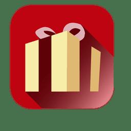 3d giftbox square icon