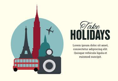 Vacations poster design maker