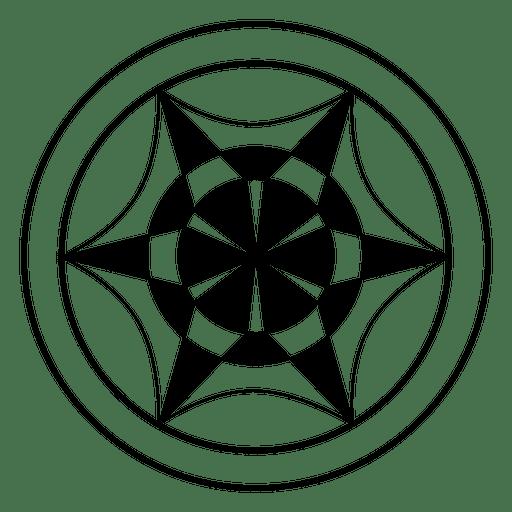 Círculo de cosecha de rueda abstracto Transparent PNG