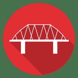 Ícone do círculo Ponte 02