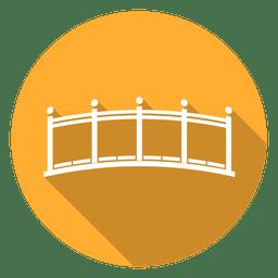 Ícone do círculo Ponte 03