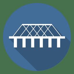 Ícone do círculo Ponte 05