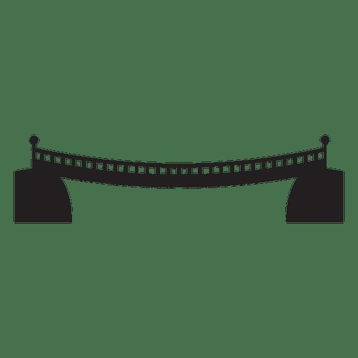 Icono de trazo de puente 12