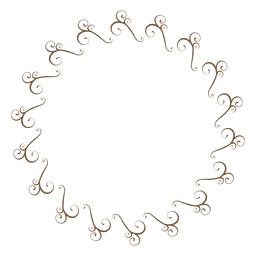 Circle frame 04