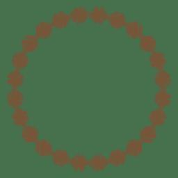 Circle frame 06