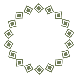 Circle frame 08