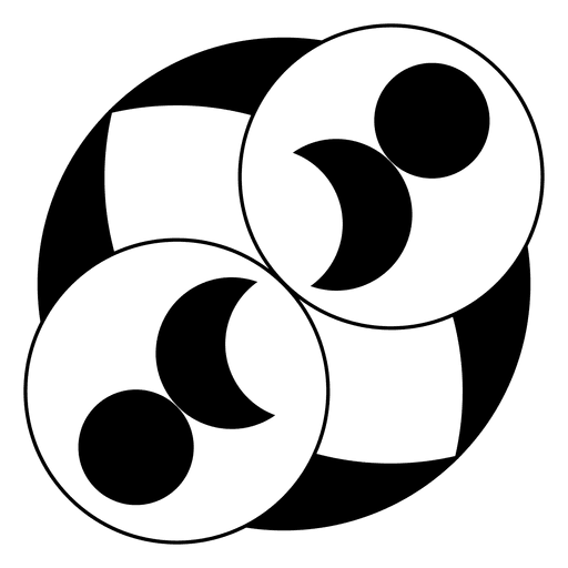Círculos e círculo de colheita da lua Transparent PNG