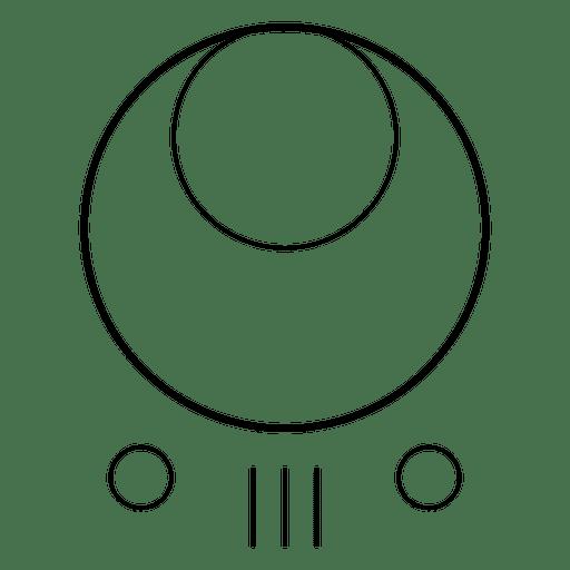 Formas de círculos concêntricos Transparent PNG