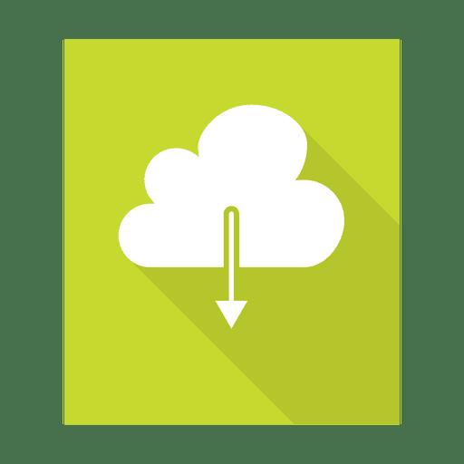 Descargar Cloud Sign con fondo Transparent PNG