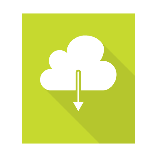 Download cloud sign with background Transparent PNG