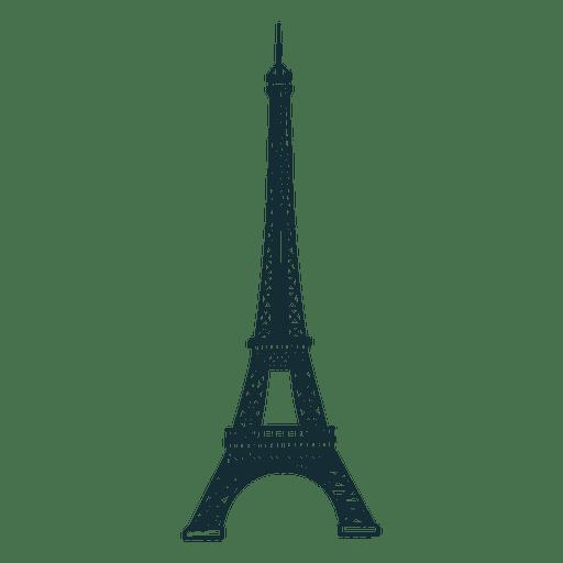 Eiffel tower cartoon