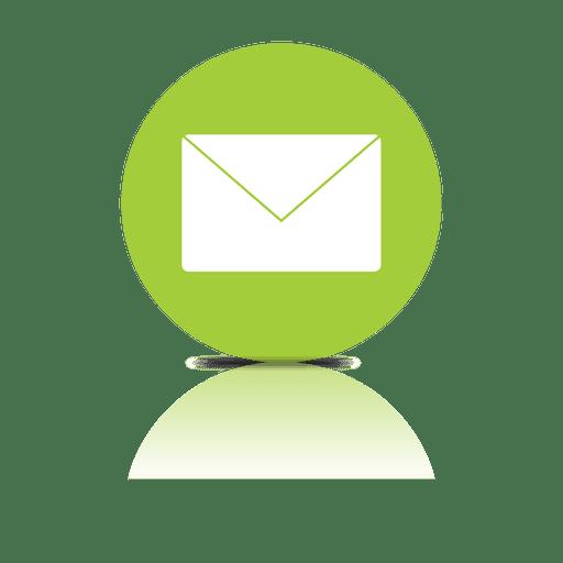 Icono de sombra de correo electrónico
