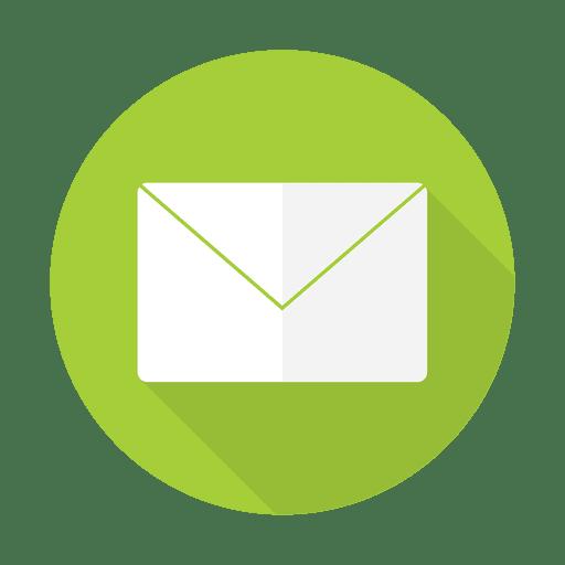 Envelope sinal plano Transparent PNG