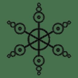 Formação feita de cirles cultivados
