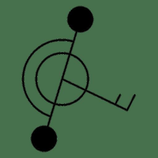 Forma geométrica círculo de cultivo Transparent PNG