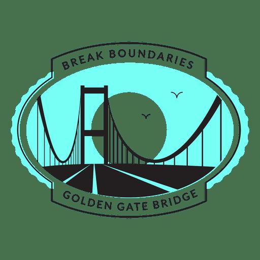 Golden Gate Bridge Logo Transparent Png Amp Svg Vector