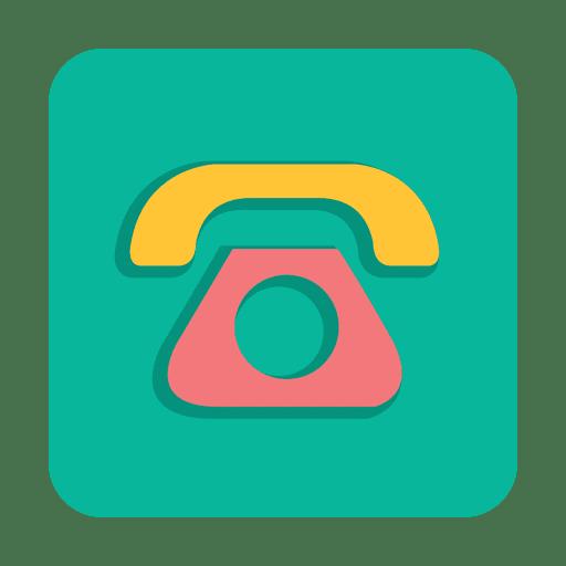 Señal de telefono minimalista con fondo Transparent PNG