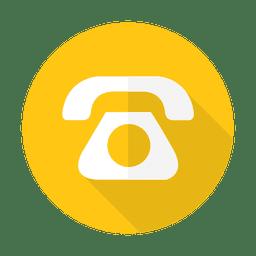 sinal do telefone