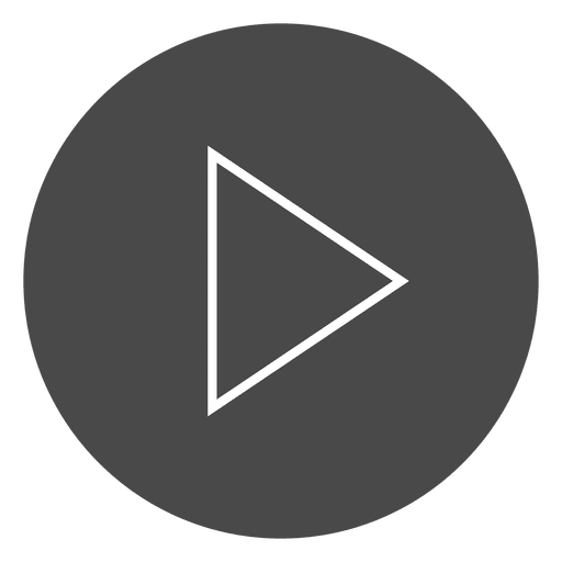 Play button circle icon Transparent PNG