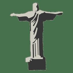 Dibujos animados de Cristo Redentor