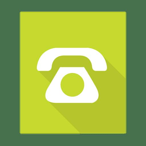 Señal de telefono simple con fondo Transparent PNG