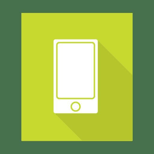 Smartphone sign with background - Transparent PNG & SVG ...