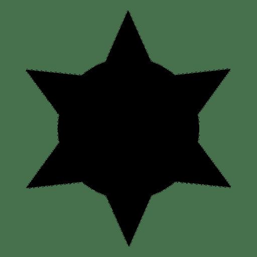 Estranha estrela arredondada Transparent PNG
