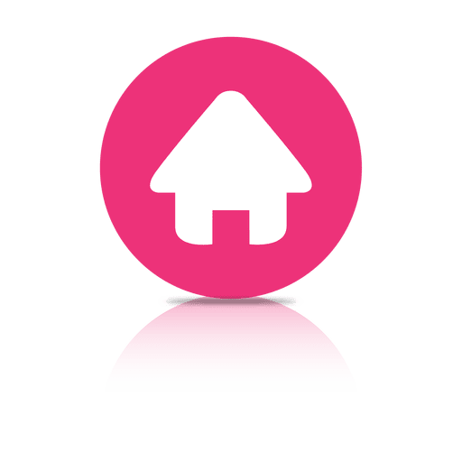 Website home shadow icon Transparent PNG