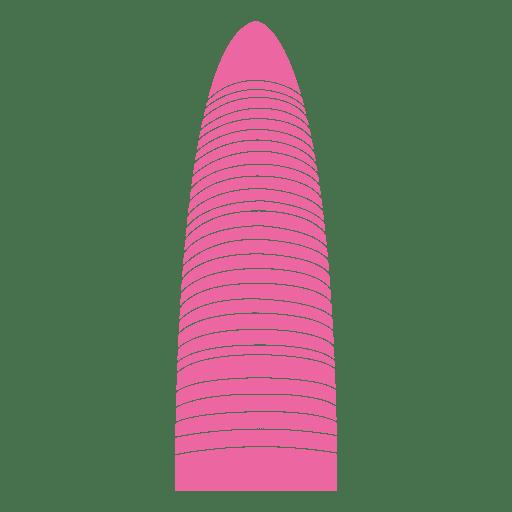 Agbar tower skyline Transparent PNG