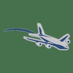 Transporte de movimento de avião