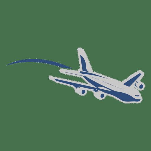 Airplane motion transportation Transparent PNG