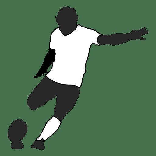 Jogador de futebol americano chutando 1 Transparent PNG